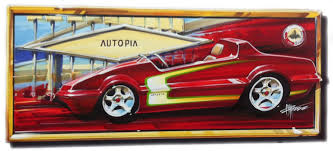 chip foose automotive art added to the d23 expo 2013