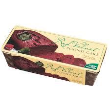 red velvet pound cake with disposable baking pan plentiful pantry