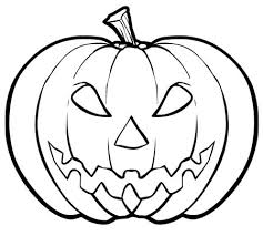 hallowen coloring pages scary pumpkin free printable halloween coloring pages hallowen