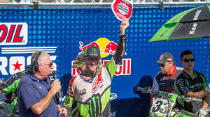 Lucas Oil Pro Motocross 450mx Eli Tomac Fights Hard For 1 1