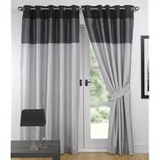 Silver Black Curtains Silver And Black Curtains Co Uk