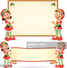 christmas elves christmas elves banners vector getty images