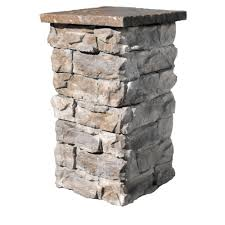 Decorative Concrete Pillars Brown 42 In Outdoor Decorative Column Fscb42 The Home Depot