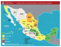 Is It Safe To Travel To Mexico images Safe places to travel in mexico map travelyok co jpg