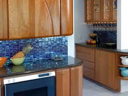 blue tile backsplash kitchen blue glass backsplash kitchen home design ideas