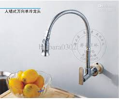 kitchen wall faucet 2017 direct sale pull kitchen wall mounted brass chrome