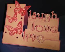melody lane designs live love laugh step card
