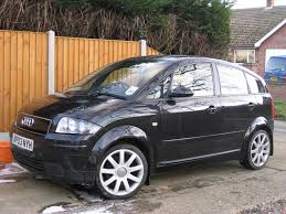 audi a2 1 6fsi sport in metallic black for sale low mileage