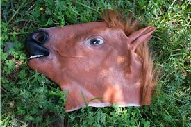 Halloween Costumes Horses Sale Creepy Horse Mask Head Halloween Costume Theater Prop Novelty