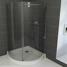 Bathroom Shower Stall Kits Corner Shower Stalls For Small Bathrooms Best Choices Within