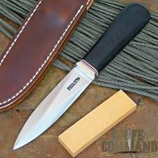 randall made knives model 24 guardian black micarta custom false
