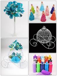 carriage centerpiece diy 16 figurine inside wire carriage and flowers centerpiece