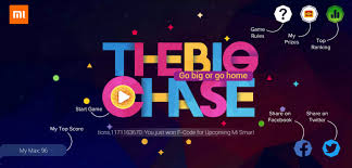 announced the big chase game is here go big or go home chat