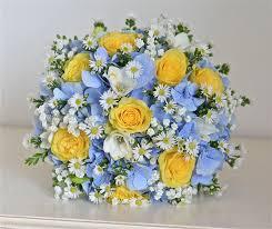 Wedding Flowers October Wedding Flowers Blog Ellie U0027s Yellow And Blue Wedding Flowers