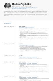 Regulatory Affairs Associate Resume