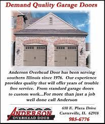 Overhead Door Model 610 Overhead Door Inc In Carterville Il 610 E Plaza Dr