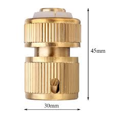 1 2 inch brass water hose pipe connector quick hose coupler