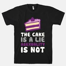 The Cake Is A Lie Meme - the cake is a lie asexuality is not i ll never understand