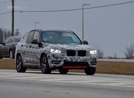 spy photos 2018 bmw x3 shows new wheel design