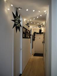 home decoration with lights decorating captivating christmas hallway decor ideas kropyok