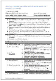 The Best Resume Format For Freshers by The Perfect Resume Format