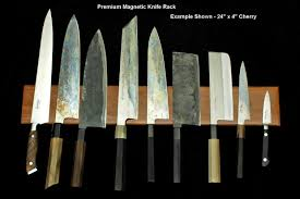 magnetic for kitchen knives premium magnetic knife racks now available apartment