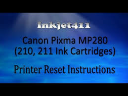 cara reset printer canon ip2770 lu kedap kedip bergantian canon pixma mp280 printer reset procedure 210 211 ink cartridges