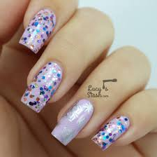cosy winter nails with a touch of glitter lucy u0027s stash