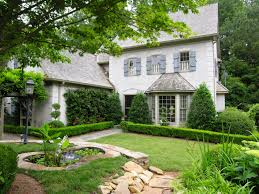 brick french country house plans