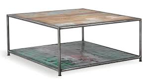 industrial square coffee table brooklyn finest industrial square coffee table