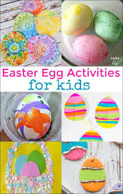 kids easter eggs 12 easter egg activities for kids mess for less