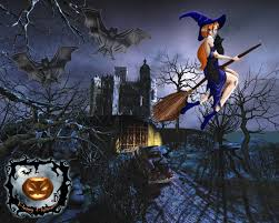 halloween anime backgrounds how to draw halloween wallpaper hellokids com