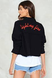 Light Jean Jacket Light My Fire Denim Jacket Shop Clothes At Nasty Gal