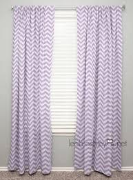 Lilac Nursery Curtains Curtain Panel Lavender Chevron C1 Lavender Etsy And Nursery