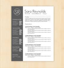 modern resume templates word creative resume templates free