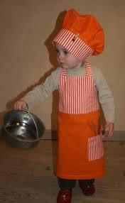 tablier et toque de cuisine kit de cuisine tablier toque enfant garçon