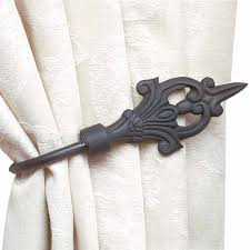 curtain tie back bar decorate the house with beautiful curtains