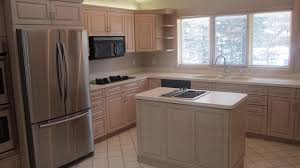 before after kitchen cabinets white oak wood bordeaux amesbury door painting kitchen cabinets