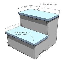 kid u0027s storage step stool diy this makes complete sense i don u0027t