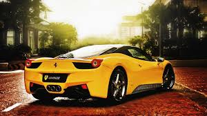 ferrari yellow and black cool yellow ferrari wallpaper 1920x1080 16595