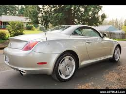 lexus sc430 white for sale 2002 lexus sc 430 hardtop convertible loaded for sale in