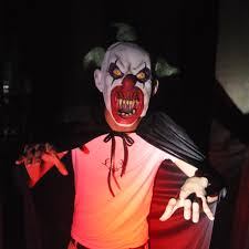 evil clown props creepy collection haunted house halloween props