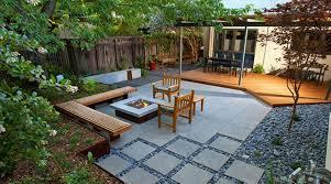 modern backyard ideas blank slate modern backyard ideas without