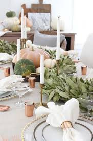 white thanksgiving 20 thanksgiving tablescape decorating ideas with natural elements