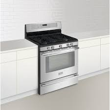 Clean Stainless Steel Cooktop Kitchen Black Stainless Steel Stove At Us Appliance For Awesome