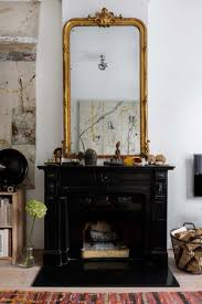 Shabby Chic Fireplaces by Eclectic Home With Industrial And Shabby Chic Touches Digsdigs