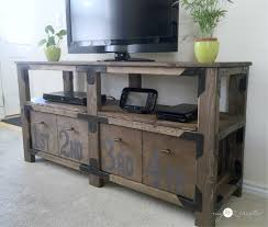 rustic media console archives diy done right