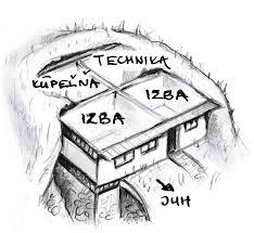 house plan of molehouse krtkodom sk