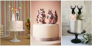 unique wedding toppers 19 unique wedding cake toppers
