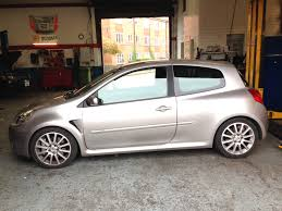 renault clio sport renault clio sport 197 lowered with spax springs aarons autos